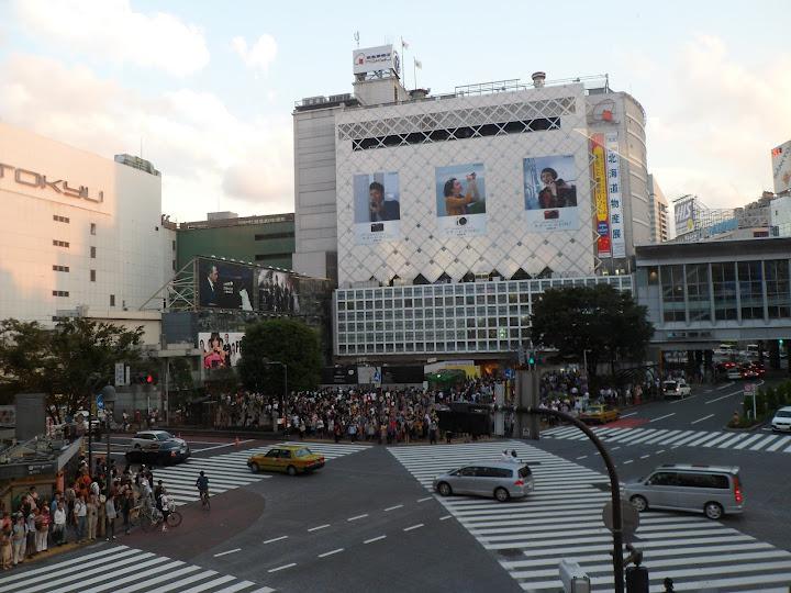 célèbre carrefour piétons tokyo Shibuya
