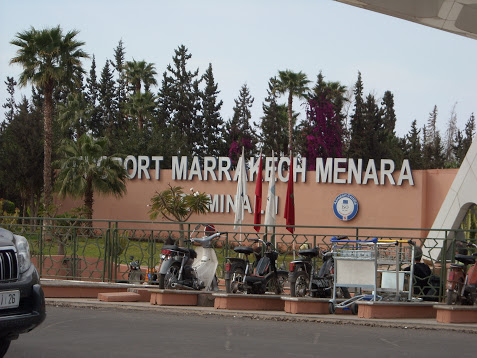 aeroport Marrakech menara