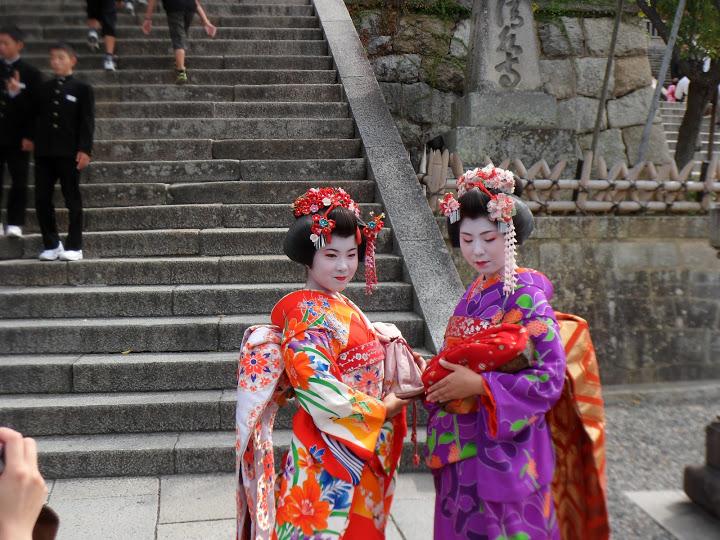 Geisha Kyoto Temple Kiyomizu
