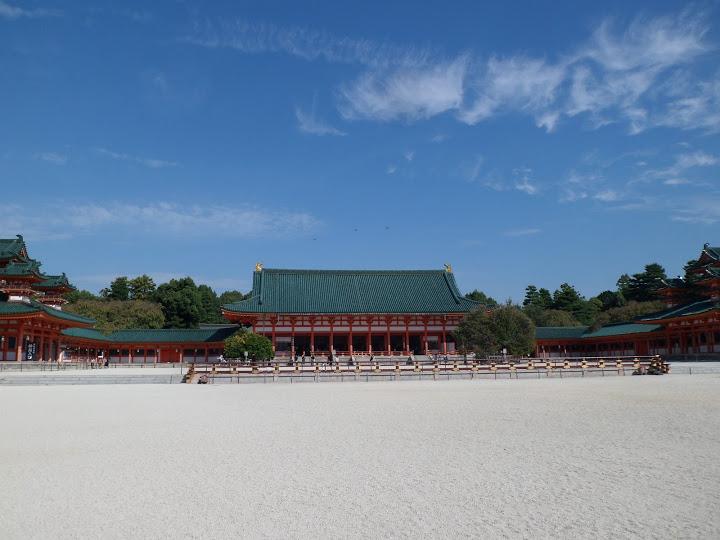 sanctuaire Heian Kyoto