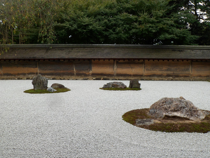 jardin temple Ryoan Ji Kyoto